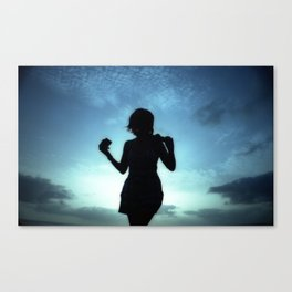 Backlighting Canvas Print