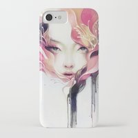 flower iPhone & iPod Cases featuring Bauhinia by Anna Dittmann