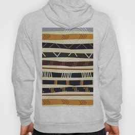 African Tribal Pattern No. 35 Hoody