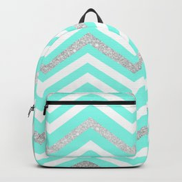 Turquoise Sparkle Backpack