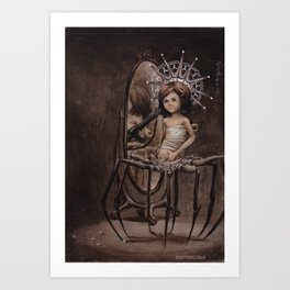The Consequence of Being Human Art Print