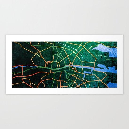 Eastward Art Print