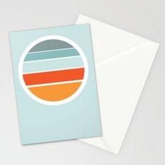 Sunrise Sunset Stationery Cards