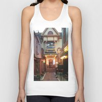 maine Tank Tops featuring Maine by Christina Hand