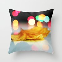 lonely Throw Pillows featuring lonely by AleArcangeli