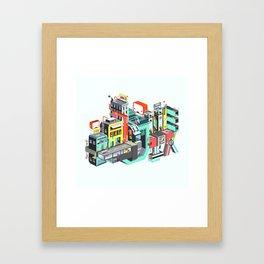 Next Stop Framed Art Print