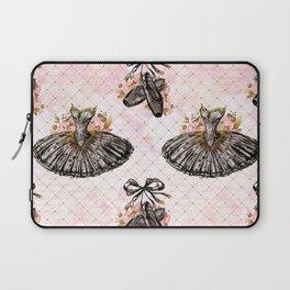 Black Tutu Ballerina Laptop Sleeve