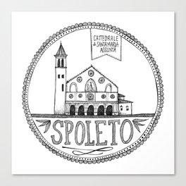 Cattedrale di Santa Maria Assunta, Spoleto Canvas Print