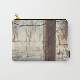 Winter in the Country Carry-All Pouch