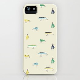Bait & Sail - Lures iPhone Case