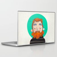 ginger Laptop & iPad Skins featuring Ginger by caridibuja