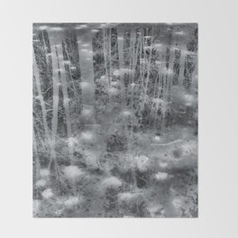 Ghostly Image Throw Blanket