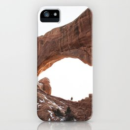 Man In The Arch iPhone Case