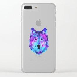 Digital Disco Clear iPhone Case