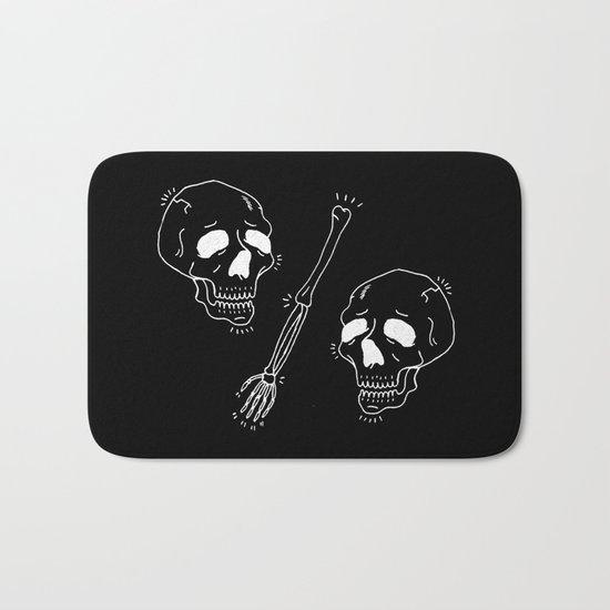Skull VS Skull Bath Mat