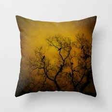 it's left unsaid. Throw Pillow