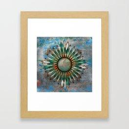 Digital Indian 8 Framed Art Print