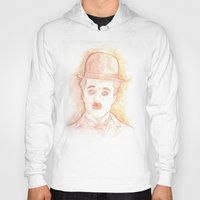 charlie chaplin Hoodies featuring CHARLIE CHAPLIN by willeyworks