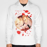 vampire diaries Hoodies featuring The Vampire Diaries  by Jonboistars