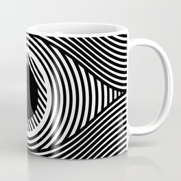 Moire Eye Coffee Mug