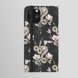 Magnolia and Serpent iPhone Wallet Case