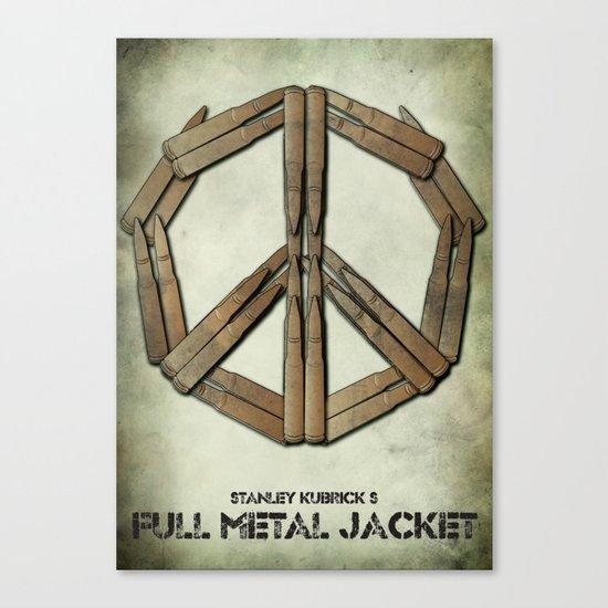 Full Metal Jacket Canvas Print