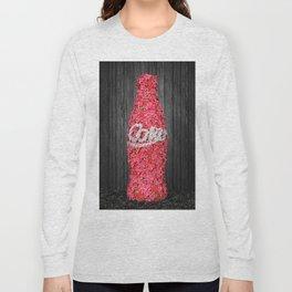Flower Coke Long Sleeve T-shirt