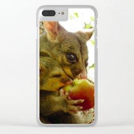 Possum & Bub Apple Share Clear iPhone Case