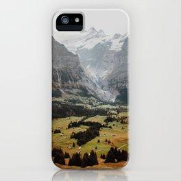 Swiss peaks iPhone Case
