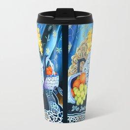 Rhapsody in Blue Travel Mug