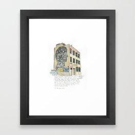 1 Jessie Street. Framed Art Print