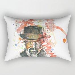 Walter White from Breaking Bad Rectangular Pillow
