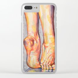 Rise Up Clear iPhone Case