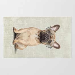 Mr French Bulldog Rug