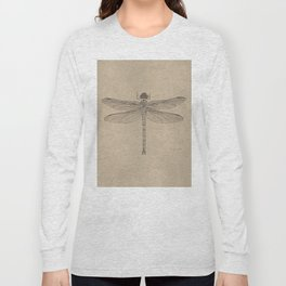 Dragonfly Fossil Dos Long Sleeve T-shirt