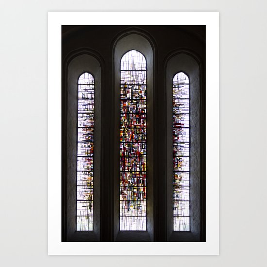 shining light. Art Print