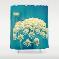 lace Shower Curtains featuring Lace by Olivia Joy StClaire