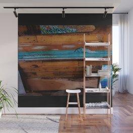 Peace of Wood Wall Mural