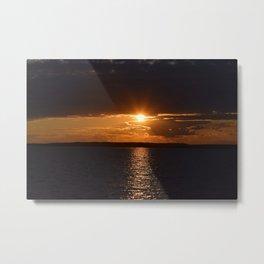 Ocean City, Maryland Series - Sunset Metal Print