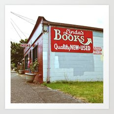 Little Tacoma bookstore  Art Print