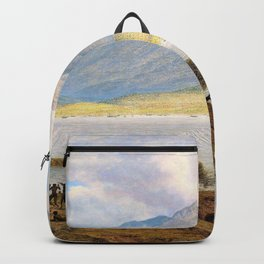 Mount Wellington And Hobart Town From Kangaroo Point - John Glover Backpack