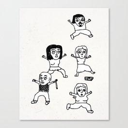 zombies Canvas Print
