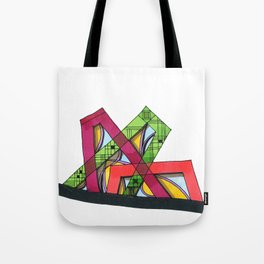 Synagogue Serendipity Geometric Architecture 76 Tote Bag