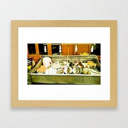 The richest sea. Framed Art Print