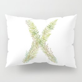 Initial X Pillow Sham