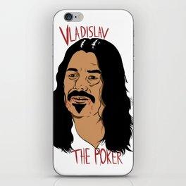 Vladislav The Poker - What We Do In The Shadows iPhone Skin
