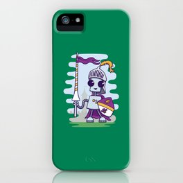 Ned the Knight iPhone Case
