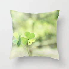 Finding Love in Nature Throw Pillow