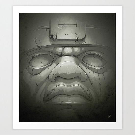Olmeca I. Art Print