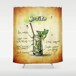 Mojito_by_JAMFoto Shower Curtain